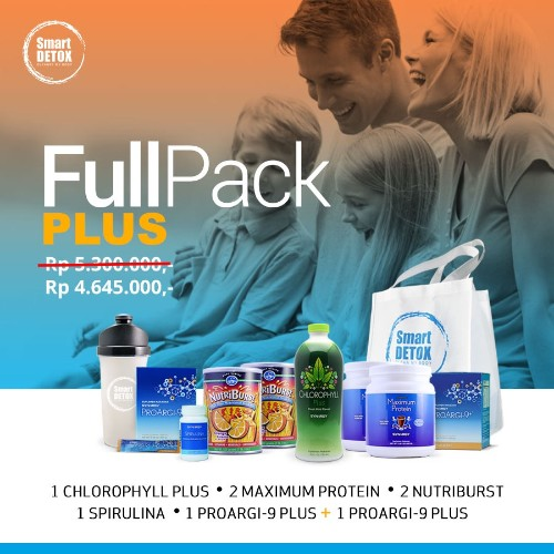 distributor smart detox paket Plus Synergy WA : 082174356320