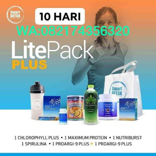 Litepack Plus Smart Detox program diet 10 hari