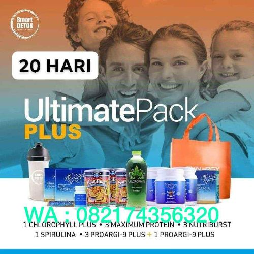 Ultimatepack Plus program diet 20 hari